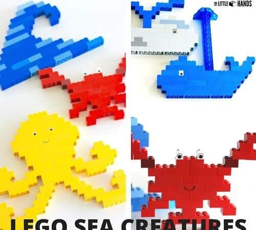 LEGO Ocean Animals for Under The Sea Theme