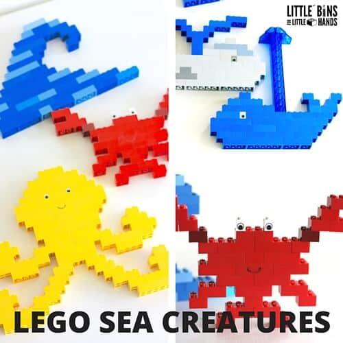 LEGO SEA CREATURES
