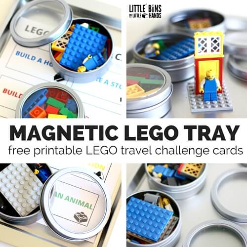 MAGNETIC LEGO TRAY