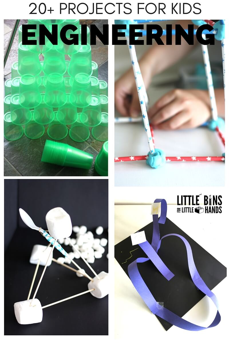 Simple Engineering Projects For Kids Little Bins For Little Hands