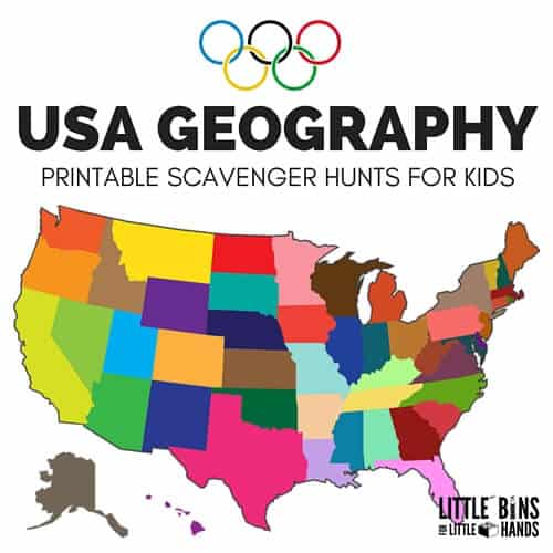 Geography scavenger hunt united states activity gumiabroncs Gallery