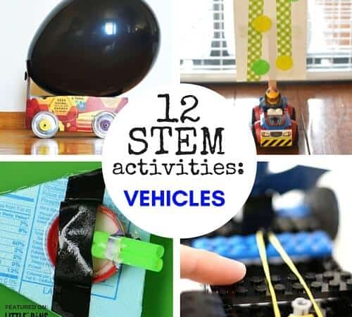 Things That Go: Building Vehicle STEM Activities