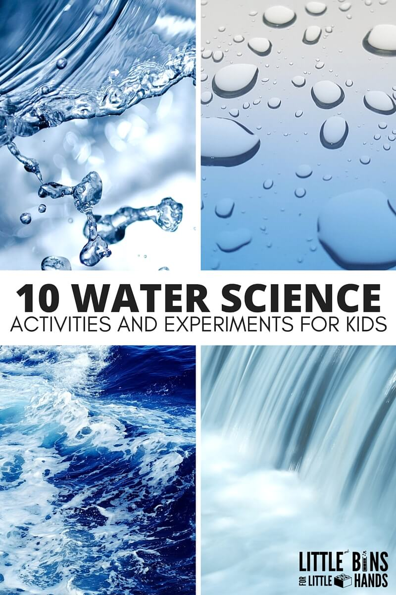 Water Science Activities for Kids STEM