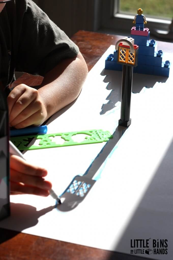Shadow Science and Drawing LEGO Shadows
