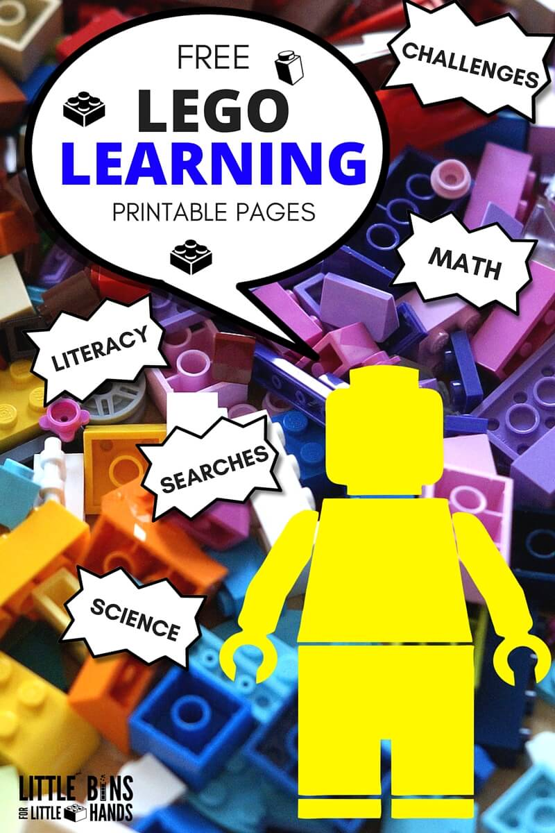 lego learning pages free printables math literacy science challenges coloring sheets 2