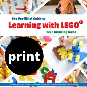 LEGO book print