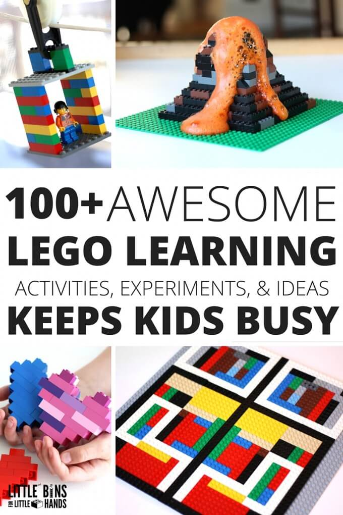 LEGO learning Activities for Learning with LEGO book