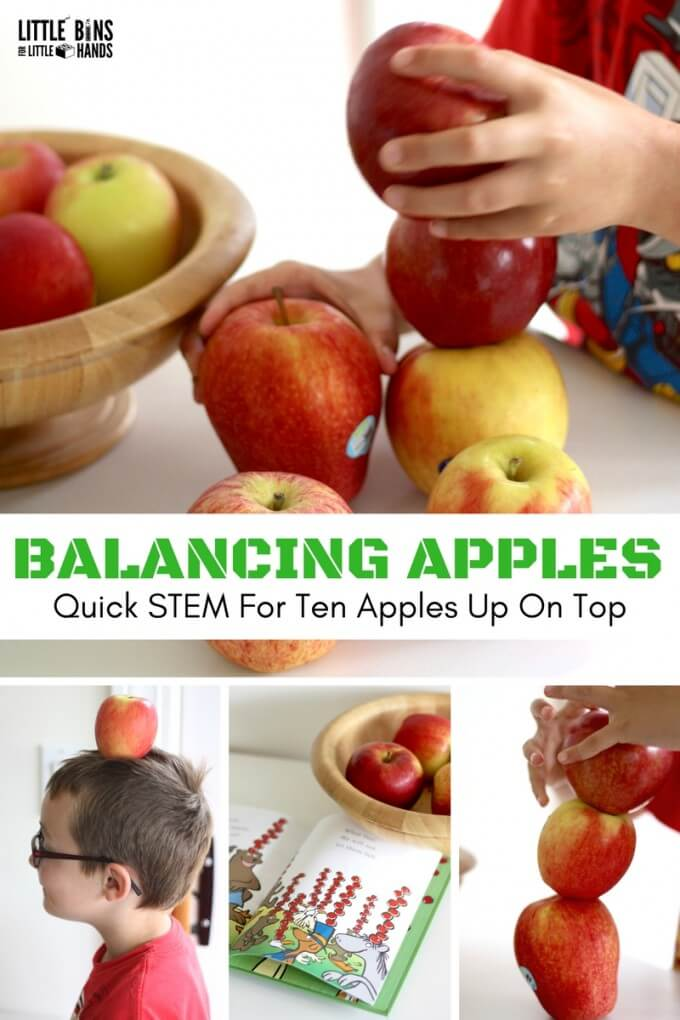 Balancing Apples STEM activity
