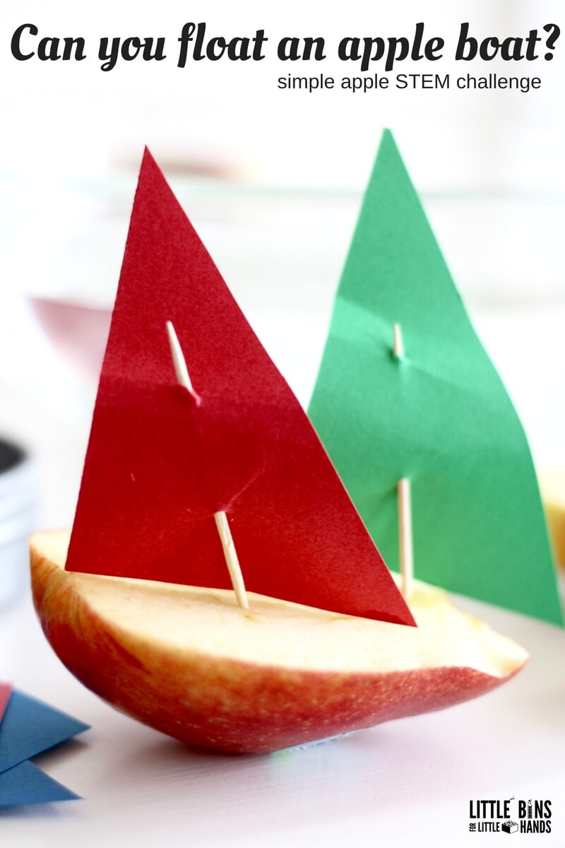 Apple Stem Activities For Kids Fall Engineering Ideas