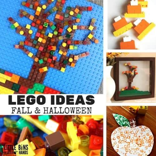 LEGO Fall and Halloween Ideas