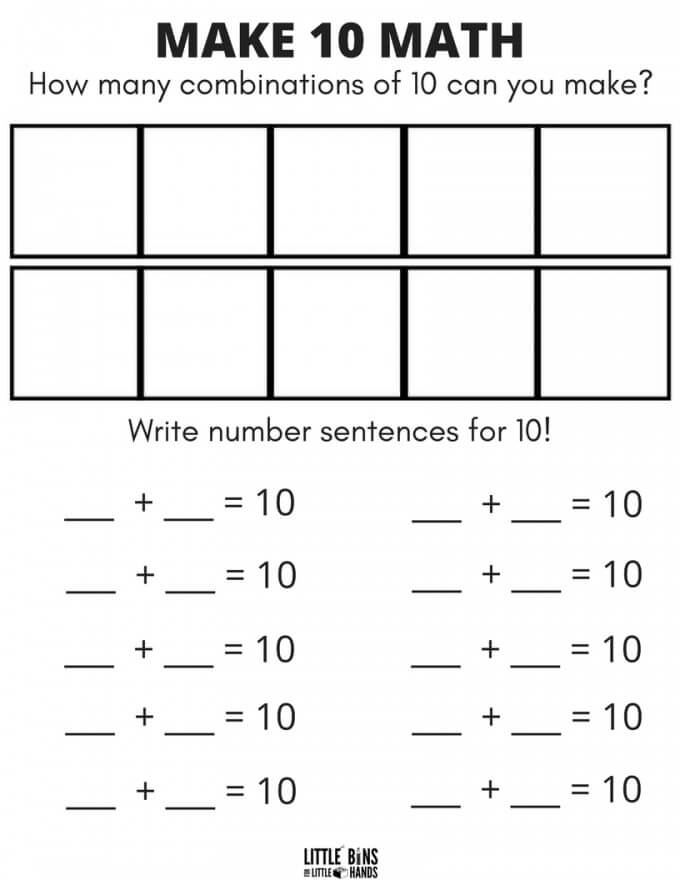 graphic regarding Printable 10 Frame called 10 Body Math Video game with Duplo Totally free Printable Sheets