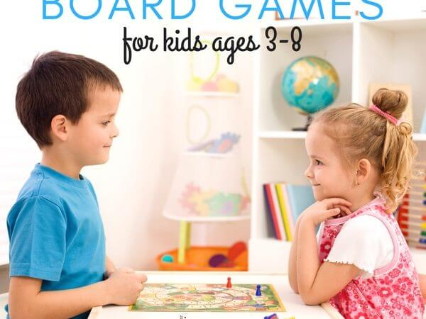 Best Kindergarten and Preschool Board Games Ages 3-8