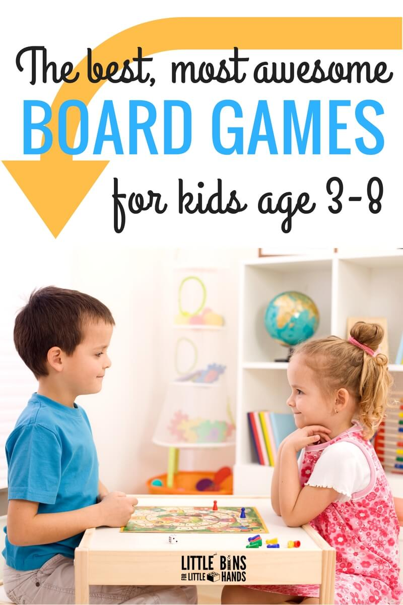 Best Kindergarten And Preschool Board Games For Kids Ages 3 8