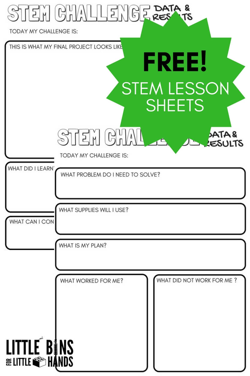 Free Science Worksheets and Printable Science Journal Pages – Free Science Worksheets