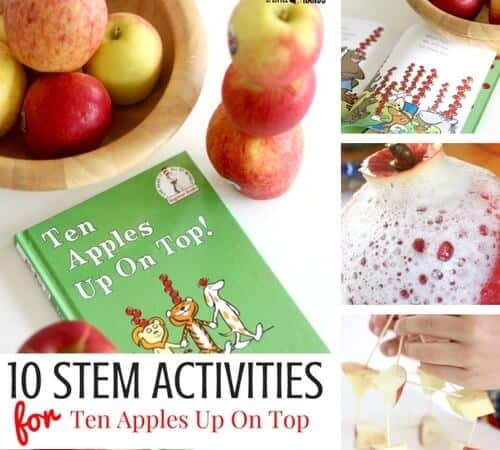 10+ Real Apple STEM Activities for Fall Science