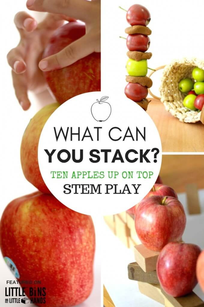 Apple Stacking Activities Ten Apples Up On Top