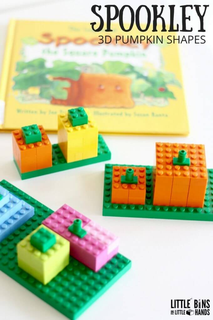LEGO Spookley Pumpkin STEM Activity