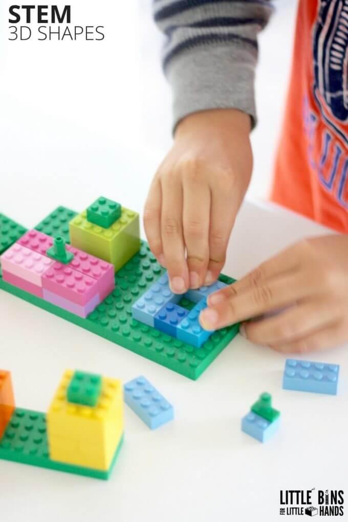 building lego pumpkin on baseplate