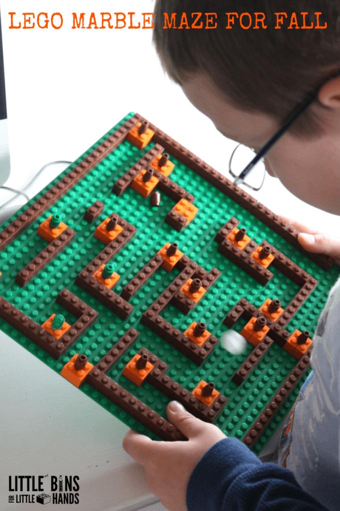 LEGO Pumpkin Patch Marble Maze