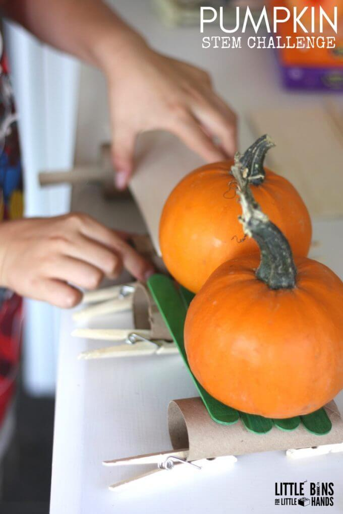 Pumpkin STEM Challenge Build A Gate Or Structure