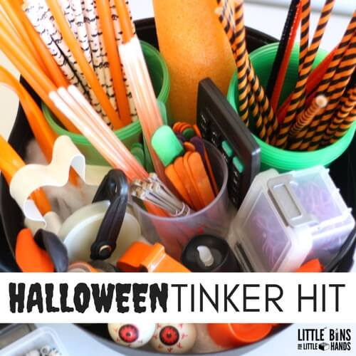 Halloween Tinker Kit for Kids Holiday Play