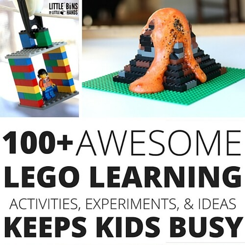 LEGO learning activities for kids book