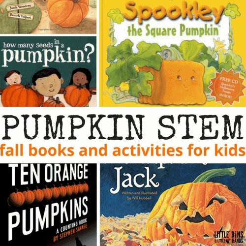 Pumpkin Book STEM Activities