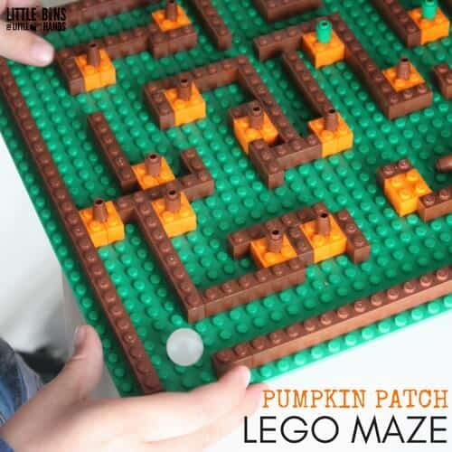 Pumpkin Patch Lego Maze Fall Stem Activity For Kids