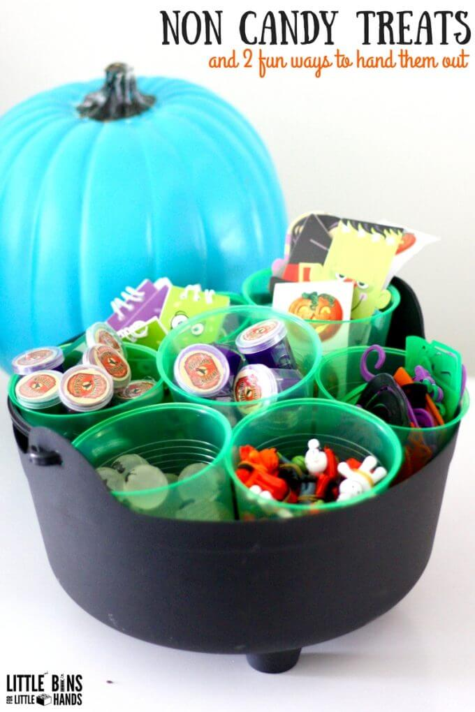 Non Candy Halloween Treats for Kids Teal Pumpkin Project