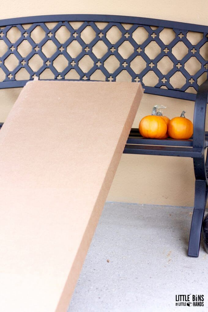Rolling Pumpkins Ramp Set Up Cardboard Box Ramps