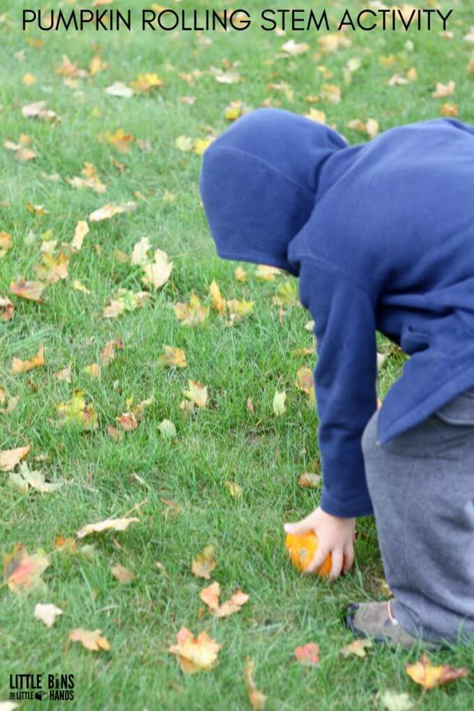Pumpkin Rolling STEM Activity