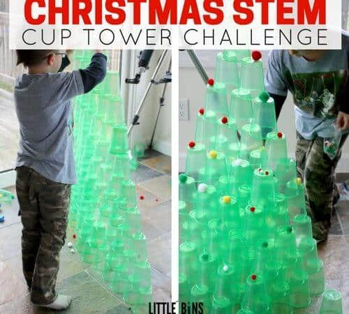 Christmas Stem Challenges.Stem Cup Challenge Daily Inspiration Quotes