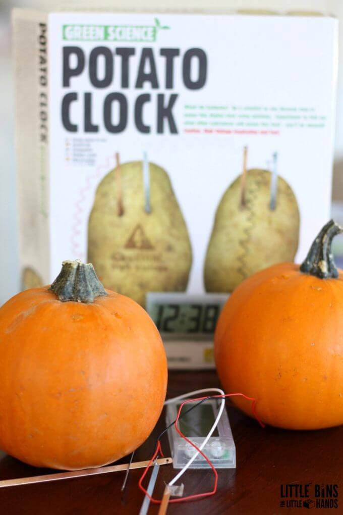 Pumpkin Potato Clock STEM Kit Science for Kids