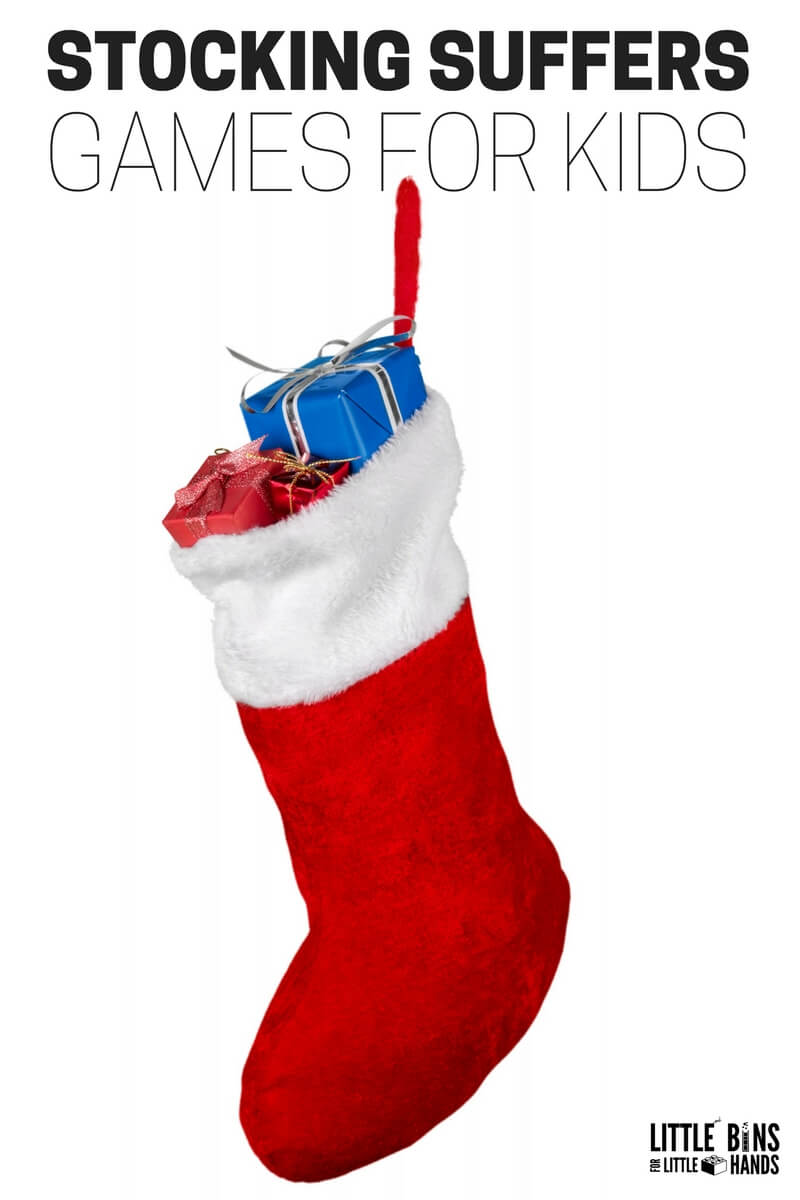 Stocking Stuffers Games for Kids Christmas Gift Ideas