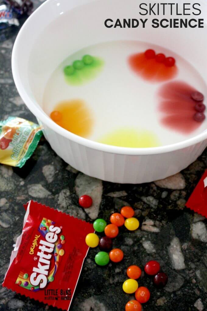 halloween Candy Science Skittles