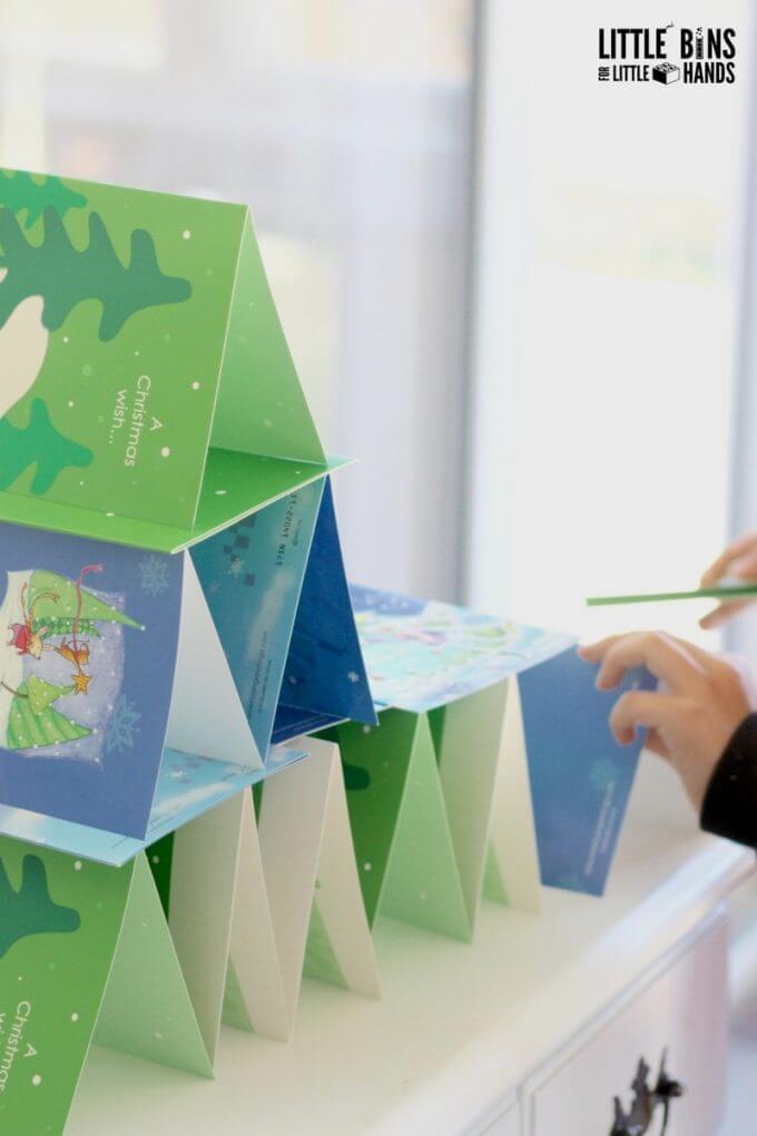 Christmas Card Building STEM