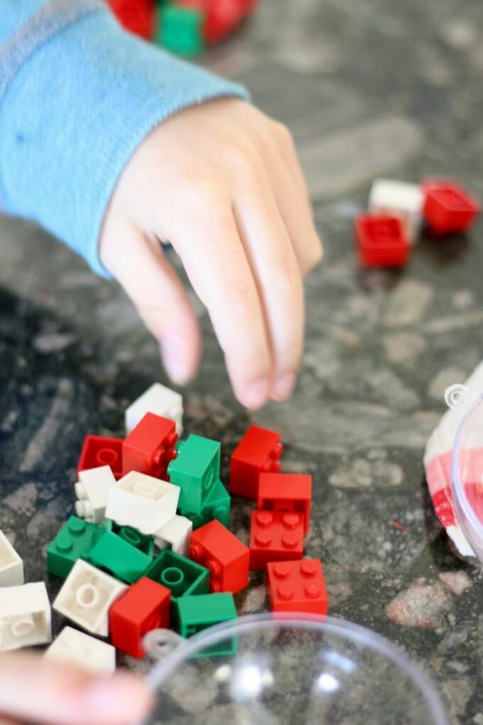 Counting LEGO Math Activity