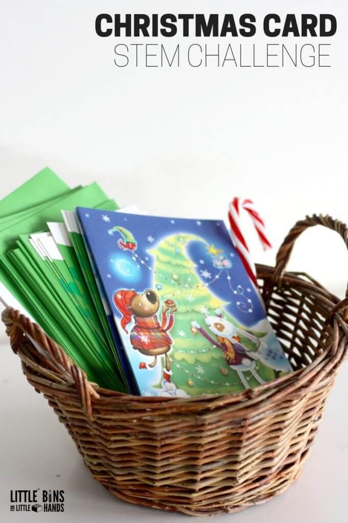 Christmas Card STEM Activity