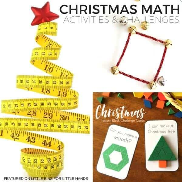 STEM challenges and activities for children that focus on Christmas science