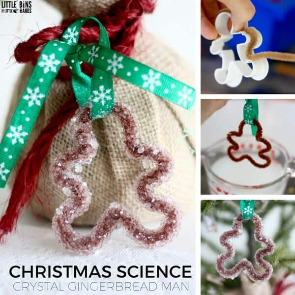 christmas crystal science