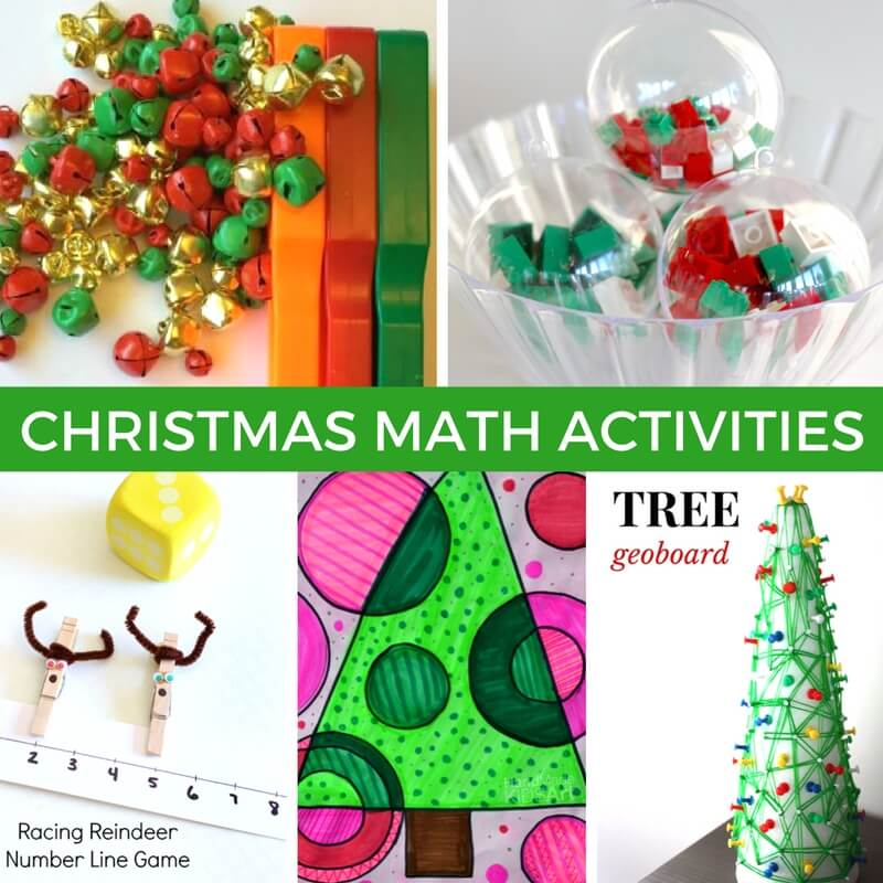Christmas Math Activities And Math Stem Challenges For Kids