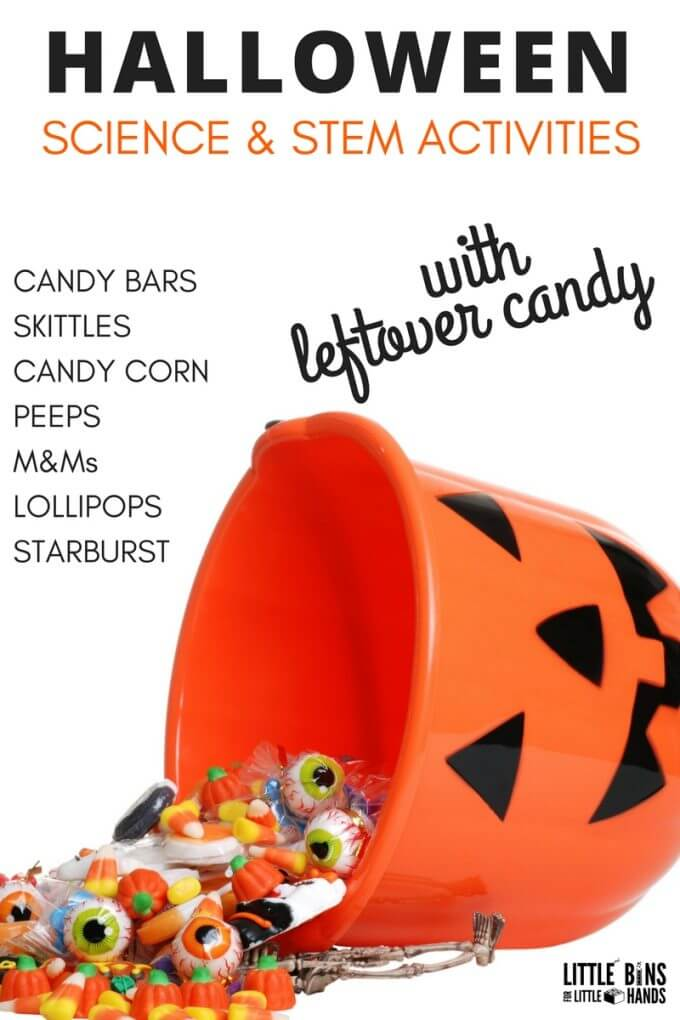 halloween Candy Science Activities and Experiments for Fall STEM