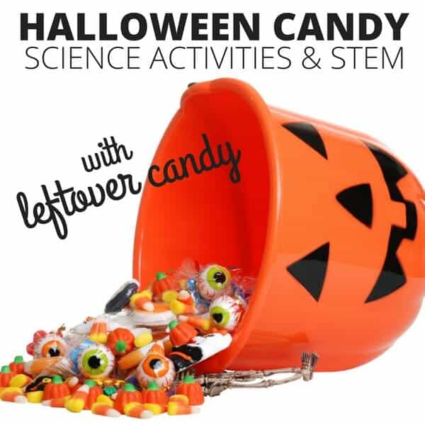 Halloween Candy Science Experiments for Halloween STEM Activities Calendar