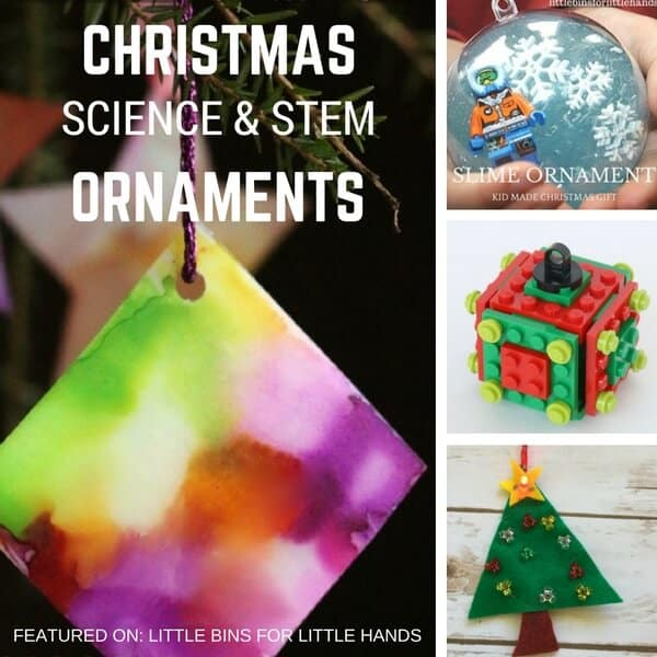 homemade christmas science ornaments for kids to make - Homemade Christmas Decorations For Kids