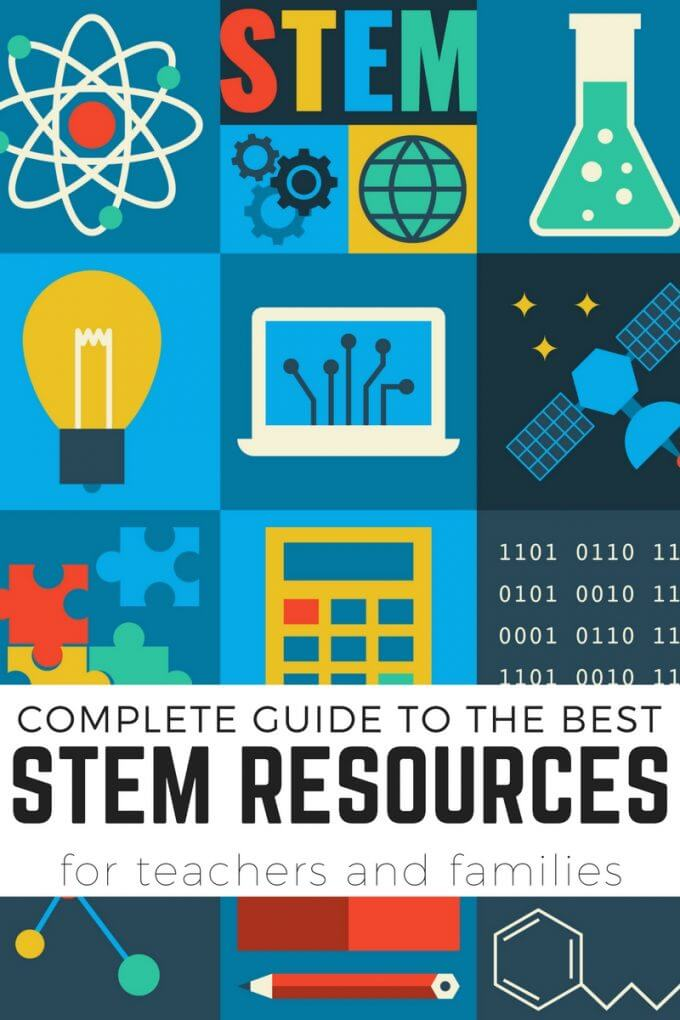 STEM resources for kids and useful information for teachers and families to better understand STEM at home or in the classroom