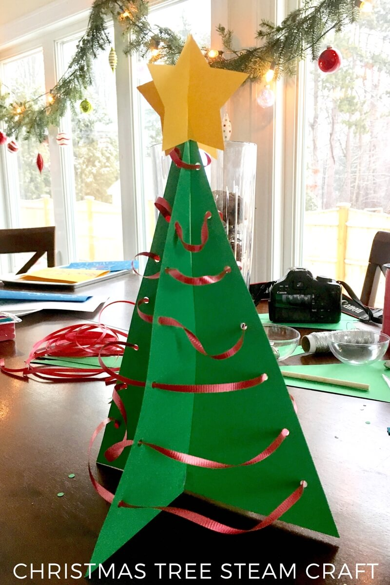 check out how much fun my son has below and how easy it is to make such a beautiful christmas decoration he is incredibly proud of his - How To Make 3d Christmas Decorations