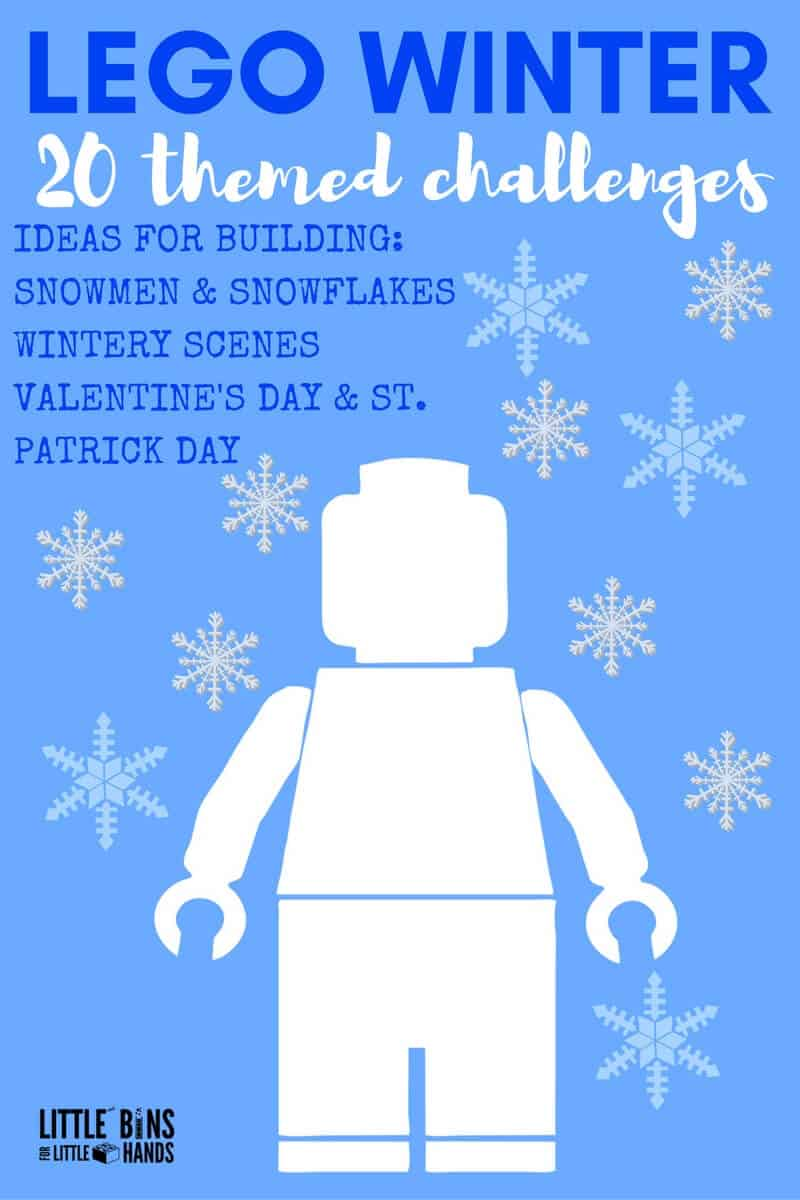 Winter Lego Building Activities And Challenges For Kids