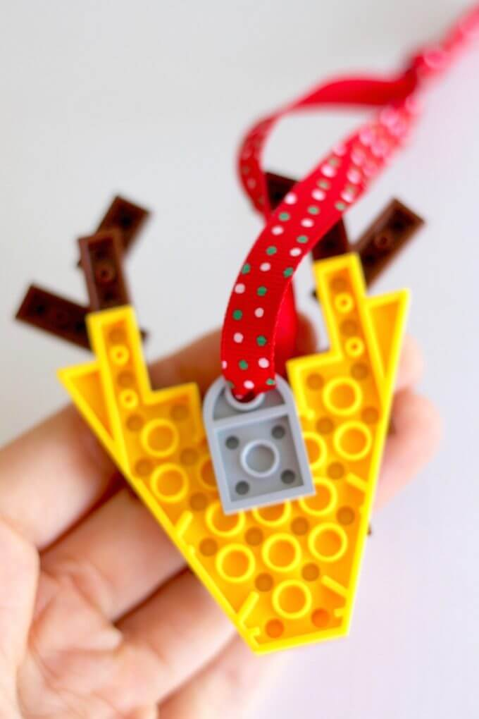 LEGO Rudolph Ornament Pieces