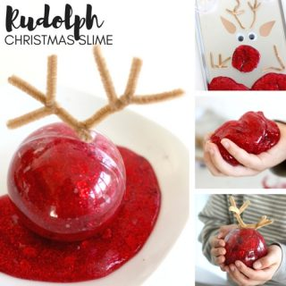 make-christmas-slime-for-rudolph-reindeer
