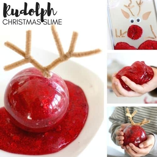 Make Christmas Slime for Kids Holiday Science and STEM